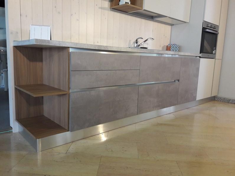 Cucina lineare GM cucine modello 22 completa di elettrodomestici ...