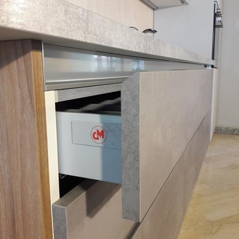 Cucina lineare gm cucine modello 22 completa di - Gm cucine prezzi ...