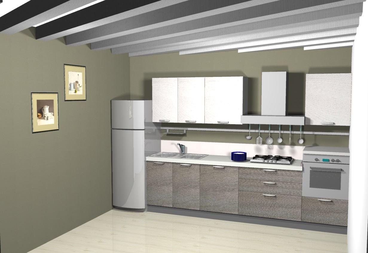 Ar due cucina mango scontato del 28 cucine a prezzi - Cucine componibili senza frigo ...