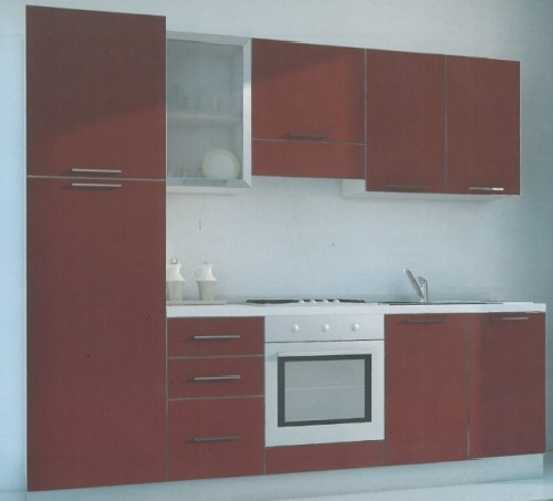 Cucina componibile moderna ALOE 255 - Cucine a prezzi scontati