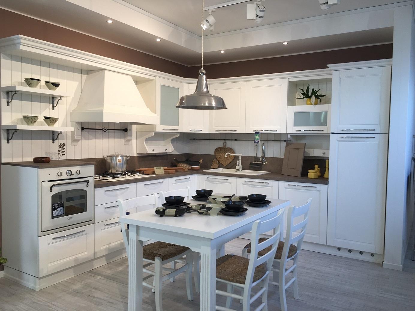Ar.Tre Cucina Modello Cloe in legno Massiccio laccato poro aperto ...