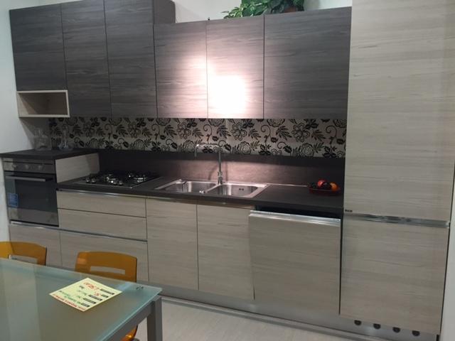 Ar-Tre Cucina Navarra Moderne Laminato Materico Neutra - Cucine a ...