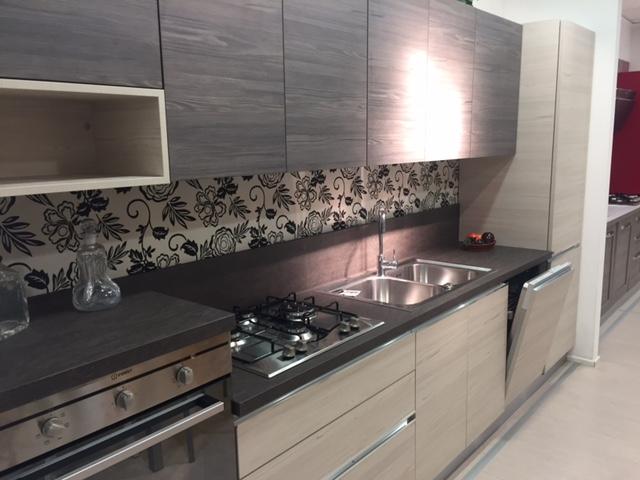 Ar tre cucina navarra moderne laminato materico neutra - Ar tre cucine prezzi ...