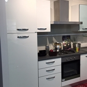 Cucina duna polimerico lucido tortora piano okite cucine a prezzi scontati - Ar tre cucine prezzi ...