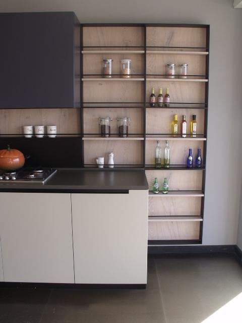 Aran cucine cucina lab13 design legno rovere chiaro cucine a prezzi scontati - Cucina legno chiaro ...
