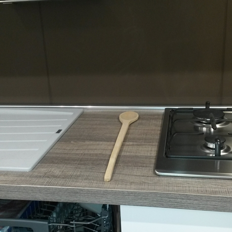 Cucina Aran Cucine Terra polimerico scontato del -53 % - Cucine a ...