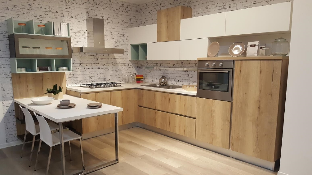 Arredamenti chianese cucina lube creo kitchens modello kyra sconto 54 cucine a prezzi scontati - Cucina lube kyra ...