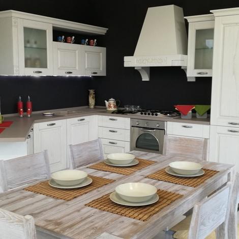 Cucina angolare con penisola gentili cucine mod olivia scontata del 45 cod 06 cucine a - Cucina angolare con penisola ...