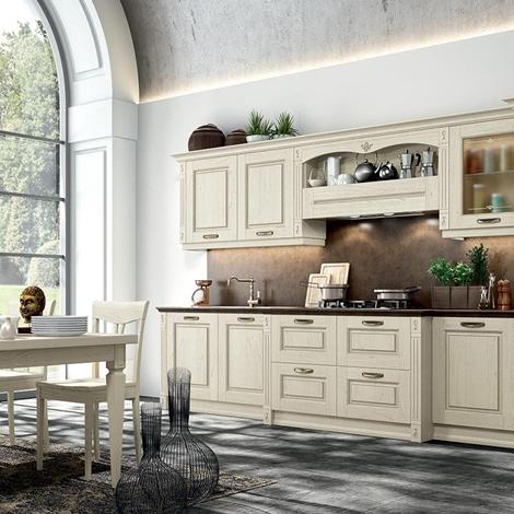 Arredo3 cucina verona country legno cucine a prezzi scontati - Cucina bianca legno ...