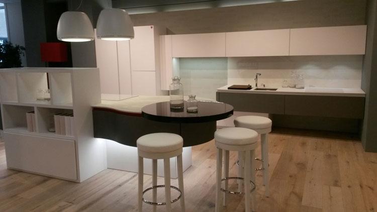 Cucina arrex 1 ducati curvarossa design laccate opaco bianca ...
