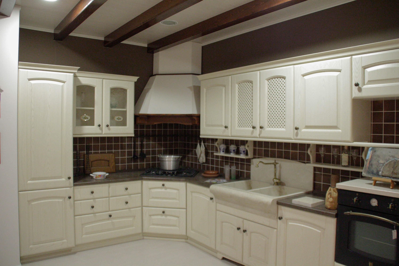 Arrex 1 cucina magda classiche legno neutra cucine a for Occasione cucine componibili