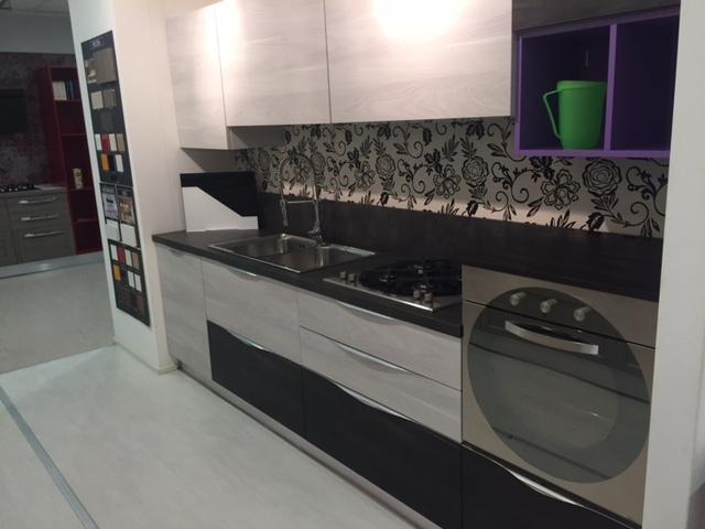 Arrex-2 Cucina Cedro Design Laminato Materico Neutra - Cucine a ...