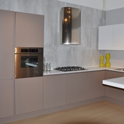 arrital cucine cucina ak 03 moderna laccato opaco tortora