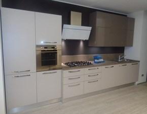 Arrital cucine Cucina Cucina mod ak01 arrital cucine laminato tortora e polimerico lucido scontato del -50 %