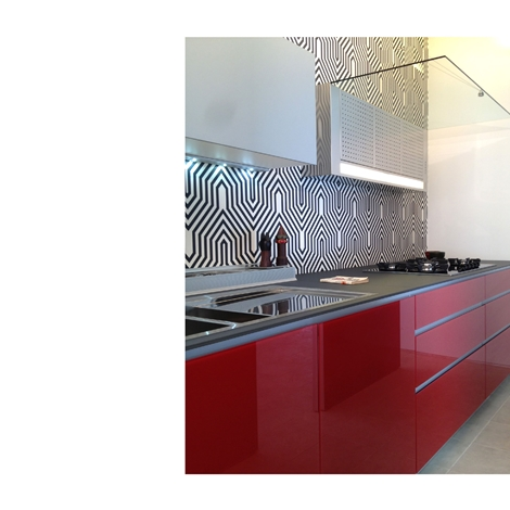 Cucina valcucine artematica vitrum prezzi scontati cucine a prezzi scontati - Canale attrezzato valcucine ...