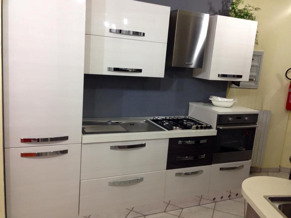 Astra cucine cucina vela moderna polimerico lucido bianca - Cucine astra prezzi ...