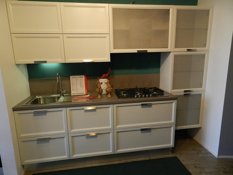 Atelier rovere bianco assoluto cucine a prezzi scontati - Cucina rovere bianco ...