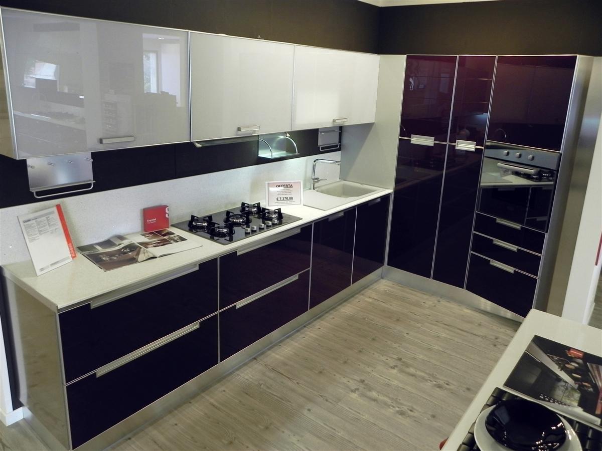 Bellissima cucina crystal cucine a prezzi scontati - Cucine occasioni da esposizione ...
