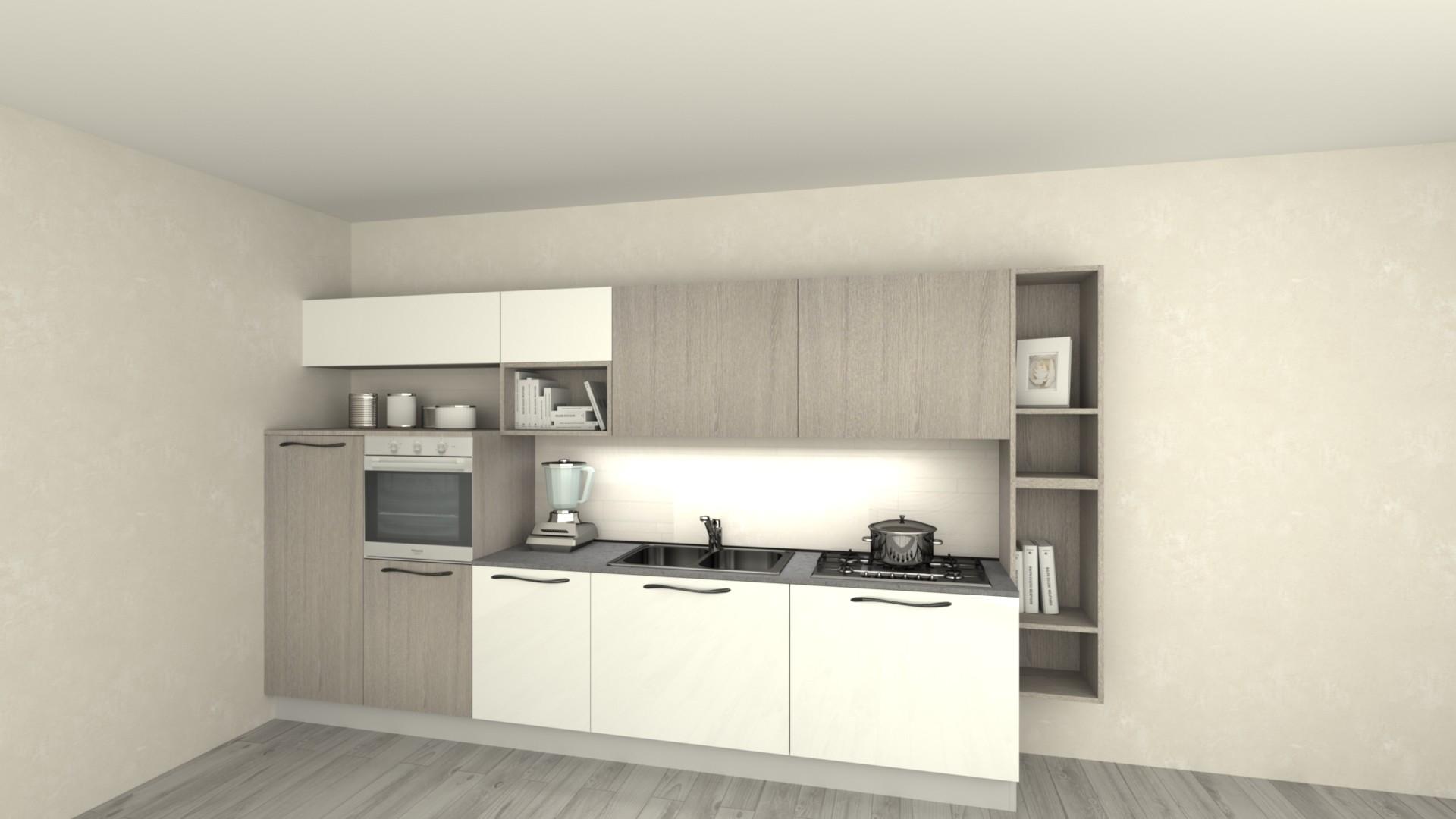 Cucine moderne con frigo esterno bj89 regardsdefemmes - Cucine con frigo esterno ...
