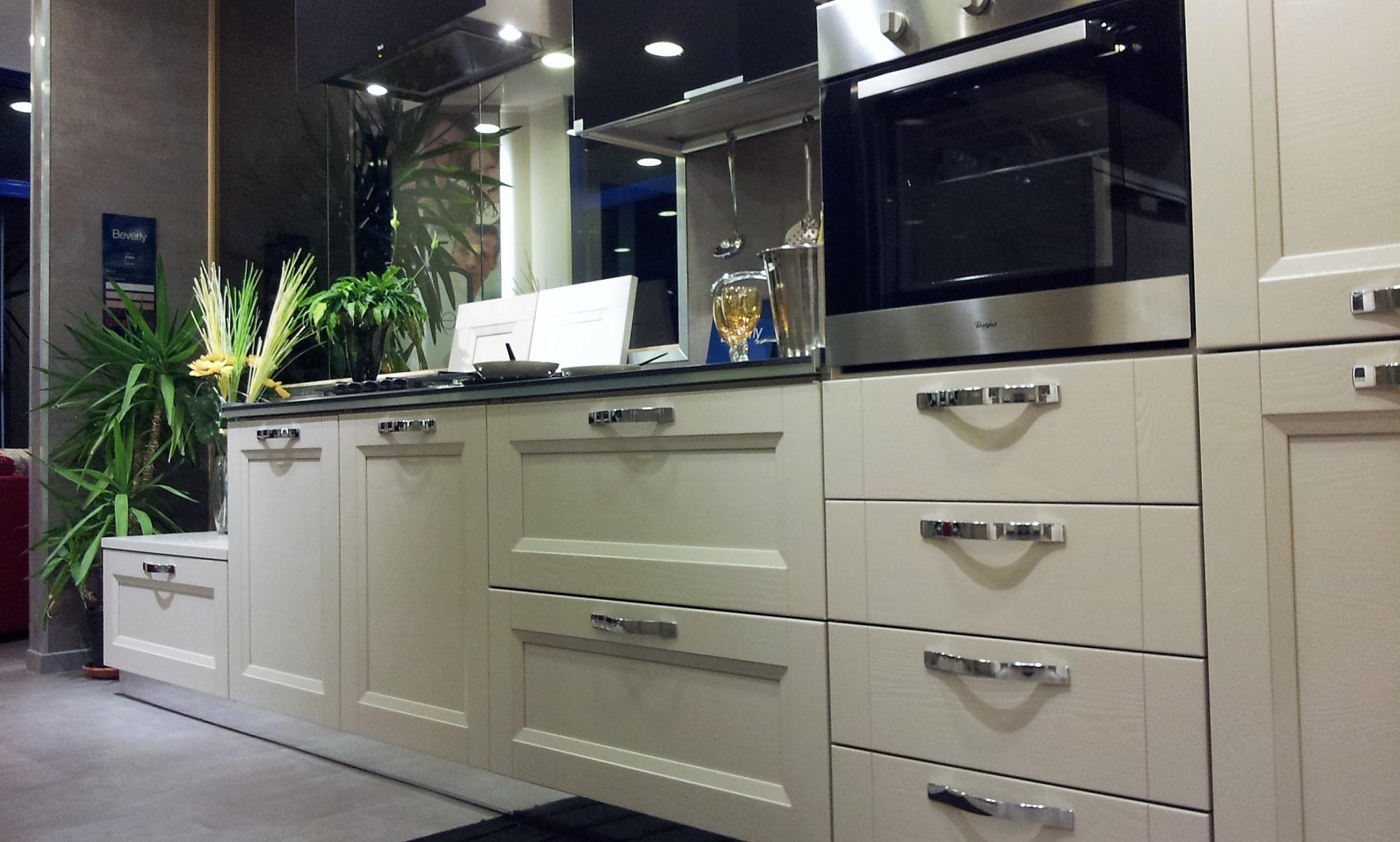 Cucina stosa cucine beverly laccata canapa scontato del - Outlet arredamento cucine ...