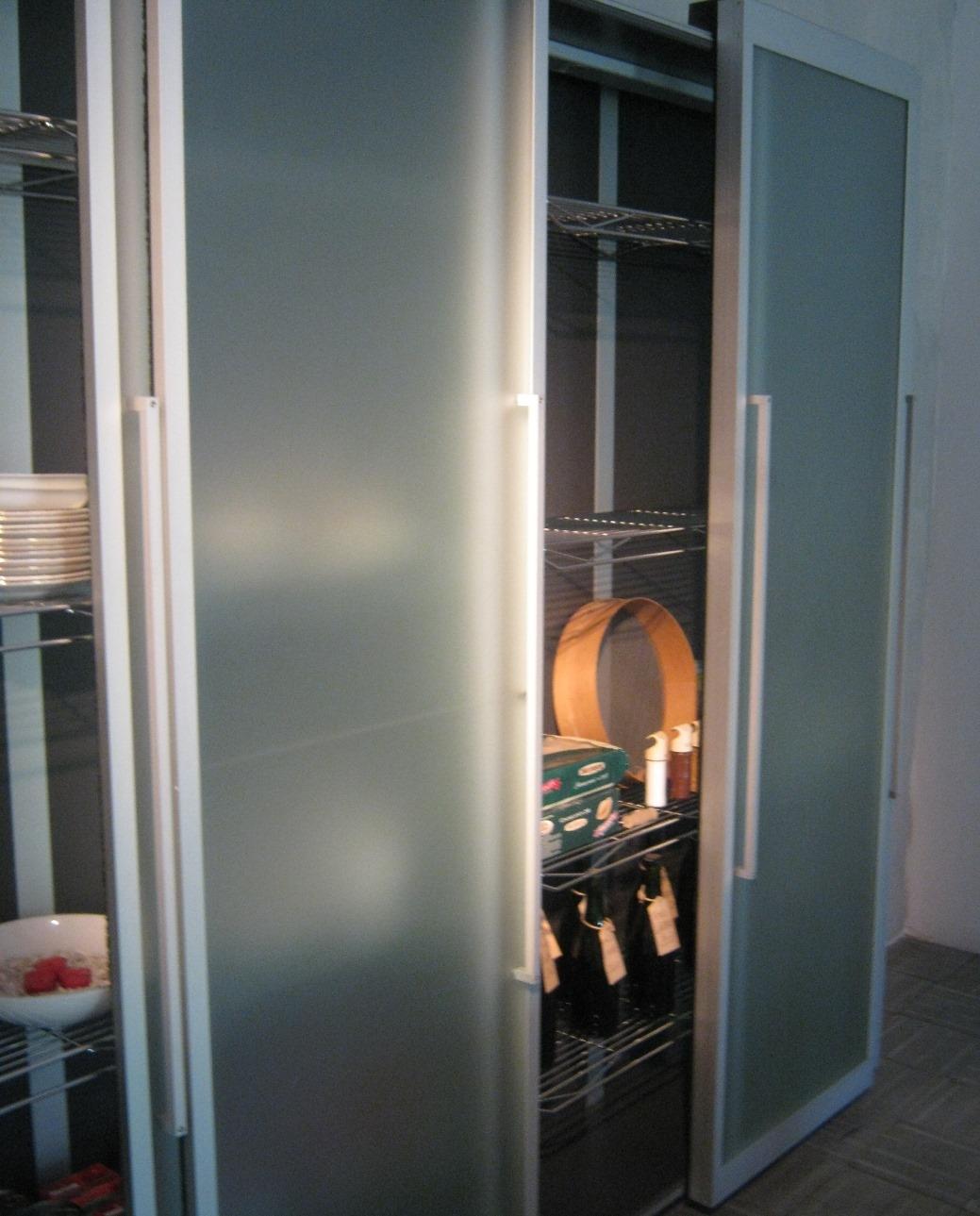 Cucina Boffi Boffi Credenza Ante Scorrevoli Cucina Factory Design  #9E5B2D 1039 1289 Pensili Da Cucina Ad Angolo