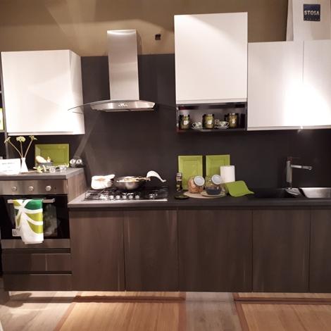 Stosa cucine cucina bring grigio lava pietra tranc e - Prezzo cucine stosa ...
