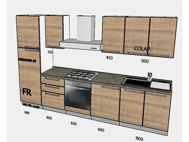 Cucina moderna con elettrodomestici by Mobilturi