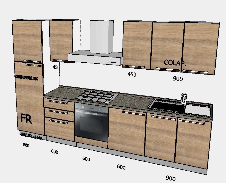 Brio cucina moderna con elettrodomestici by mobilturi cucine a prezzi scontati - Mobilturi cucine prezzi ...