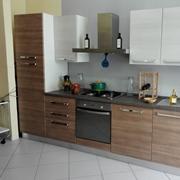 Brio - Cucina moderna con elettrodomestici by Mobilturi