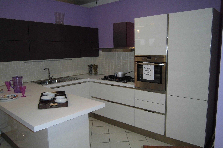 CARRERA GO VENETA CUCINE 7357 Cucine A Prezzi Scontati #4A415F 1500 1000 Open Space Con Sala Da Pranzo