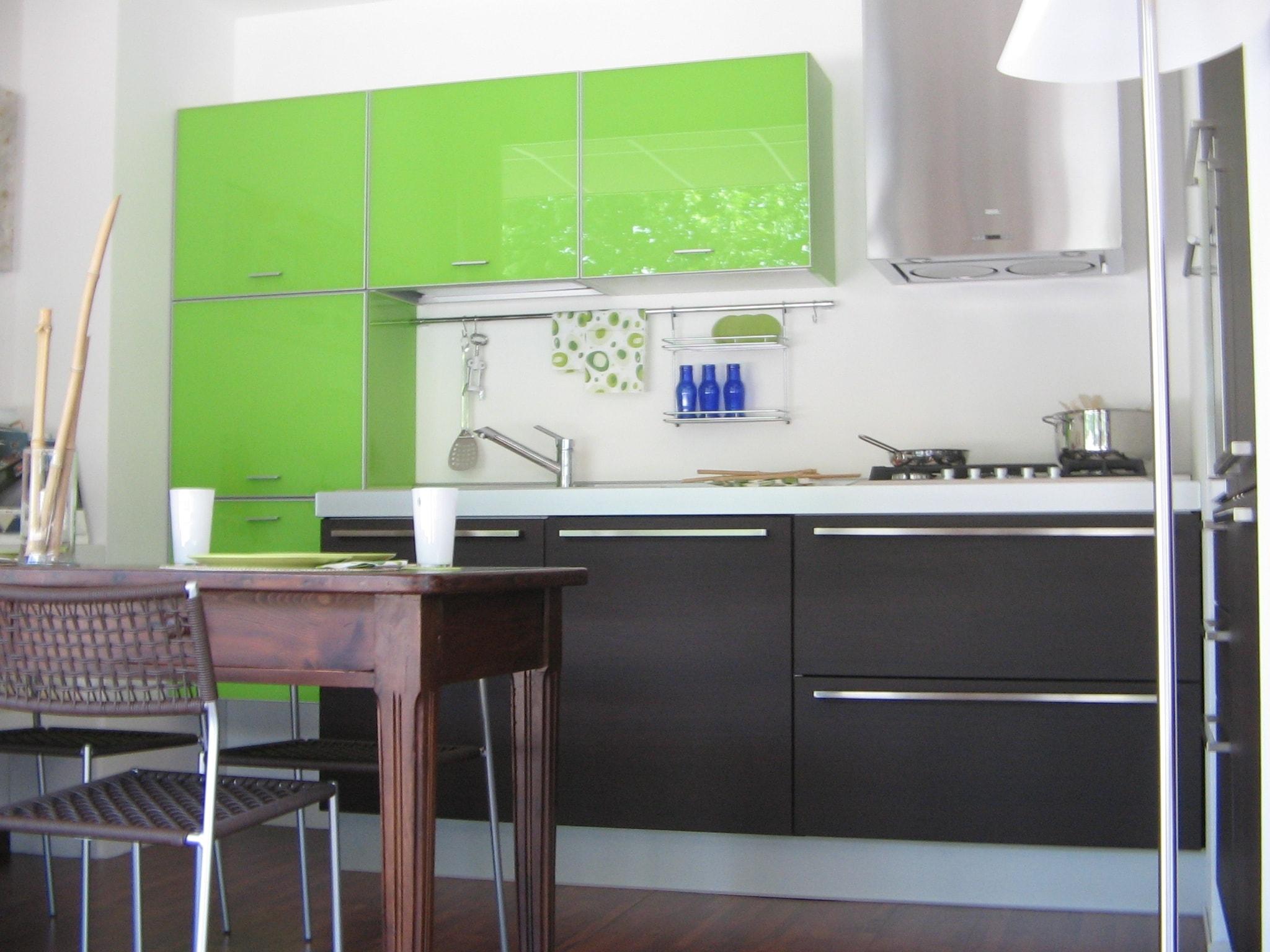 Cucina florida cucine reflex scontato del 52 cucine a - Cucina verde mela ...