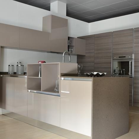 Cesar cucina ariel con top quarzo cucine a prezzi scontati - Top per cucine in quarzo ...