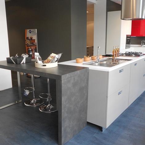Cesar Cucine Cucina Kora Design Laminato Opaco grigio scontata del -58 ...