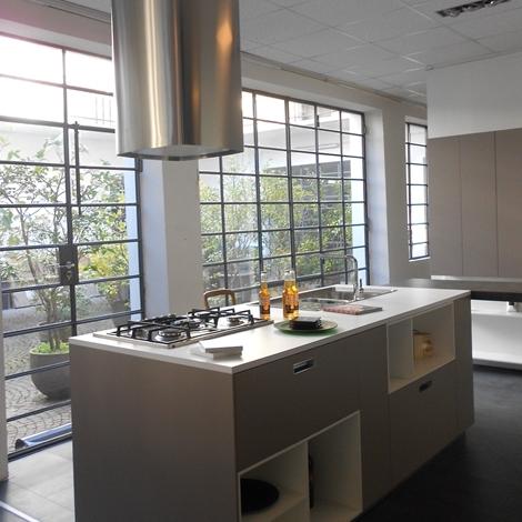 Cesar Cucine Cucina Kora Design Laminato Opaco grigio - Cucine a ...