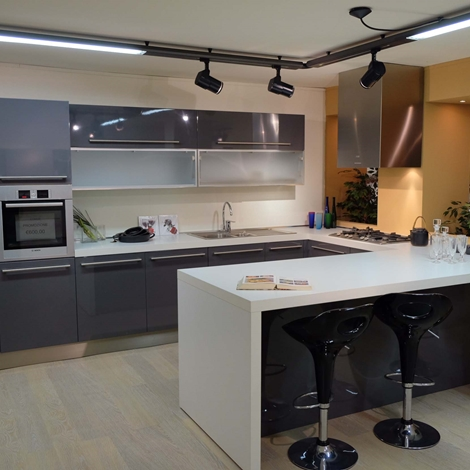 Cesar cucine cucina lucrezia laccato lucido scontata del 65 cucine a prezzi scontati - Cesar cucine prezzi ...