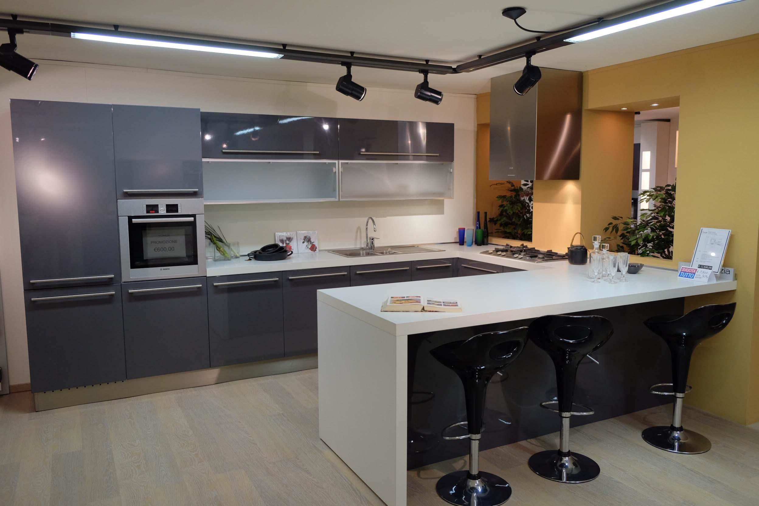 Cesar cucine cucina lucrezia laccato lucido scontata del 65 cucine a prezzi scontati - Cucine cesar prezzi ...