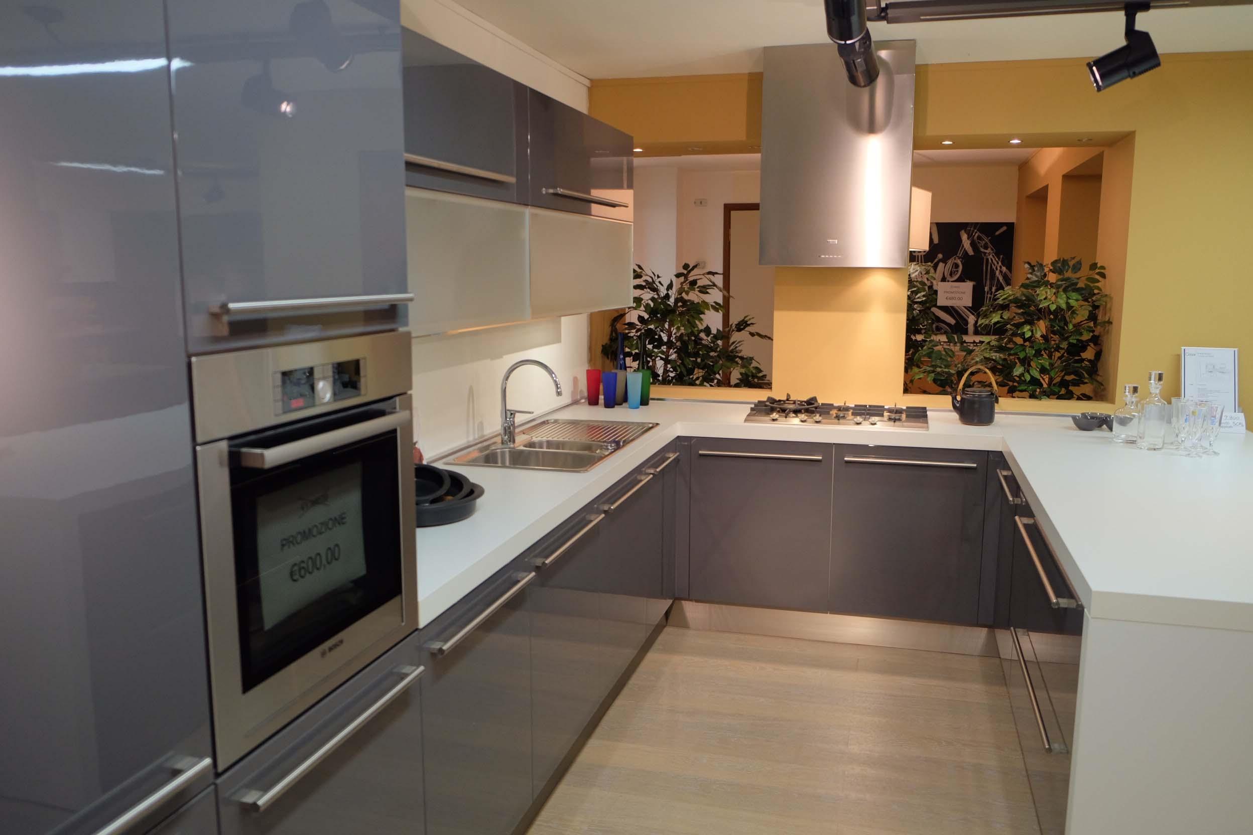 Cesar cucine cucina lucrezia laccato lucido scontata del - Prezzi cucine cesar ...