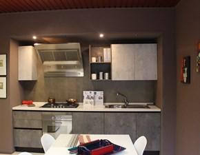 Cucina 22 plus moderna antracite lineare Gm cucine