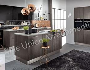 Cucina Acy moderna grigio ad isola Colombini casa