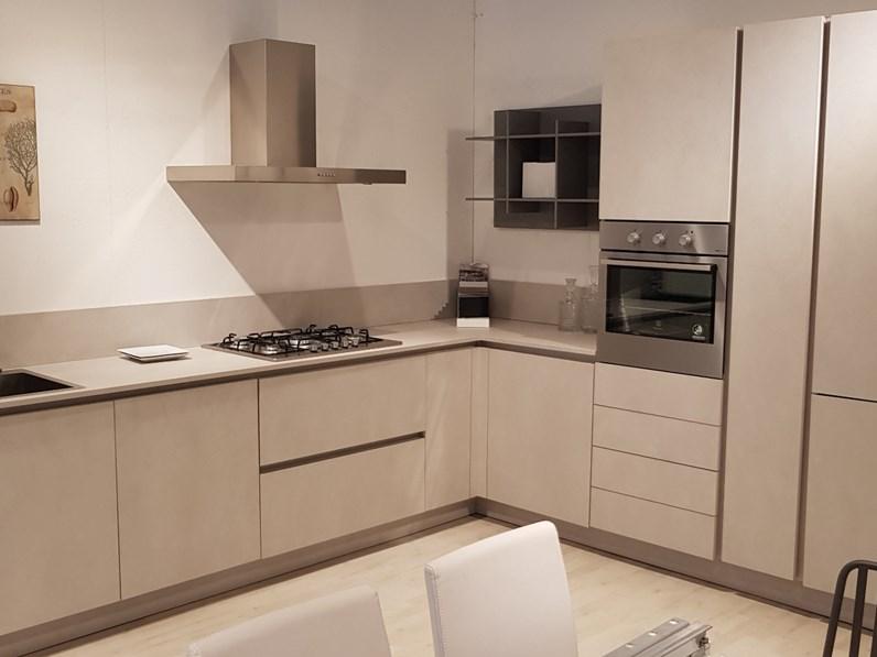 Cucina ad angolo Ak project Arrital cucine con uno sconto del 57%