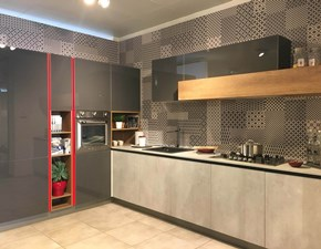 Cucina ad angolo Aliant-infinity Stosa cucine con uno sconto vantaggioso
