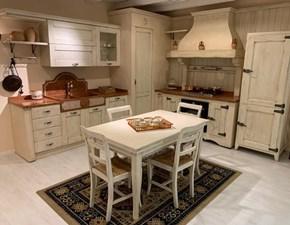 Cucina ad angolo Ambra Artigianale con un ribasso vantaggioso