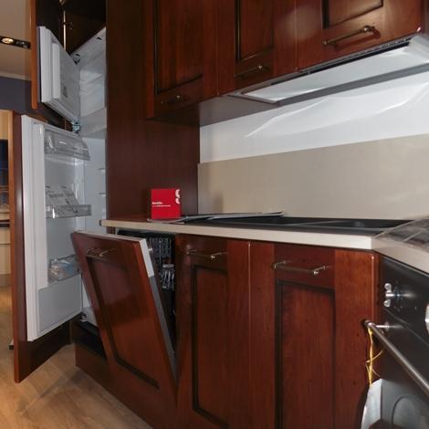 Cucina ad angolo amelie scavolini scontata del 30%   cucine a ...