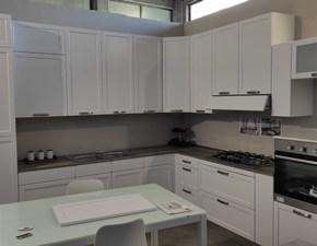 Cucina ad angolo Arnica bianca Arrex-2 con uno sconto vantaggioso