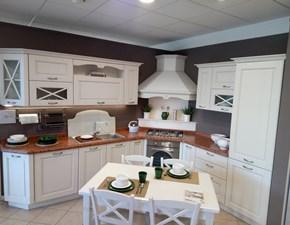 Cucina ad angolo classica Agnese Lube cucine a prezzo ribassato