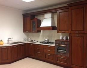 Cucina ad angolo classica Contrada Arrital cucine a prezzo ribassato