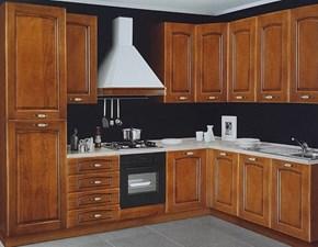 Cucina ad angolo classica Mary Net cucine a prezzo ribassato