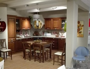 Cucina ad angolo classica Panera Forma 2000 a prezzo ribassato