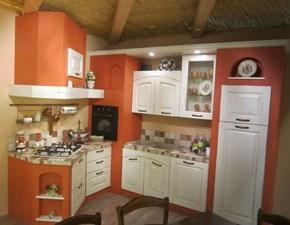 Cucina ad angolo Comp.7 Artigianale con un ribasso del 42%