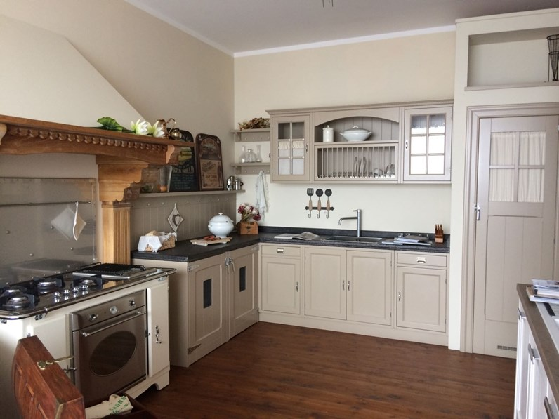 Cucina ad angolo country stile inglese mod. Old england Marchi ...